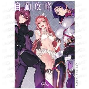 orangemaru trio sex anime girls deep penetration fate grand order